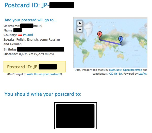 Postcard JP