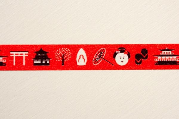 京都中央郵便局オリジナルマスキングテープ