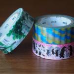 おかやまハレいろキャンペーン「mt × 岡山城」限定マスキングテープ3種